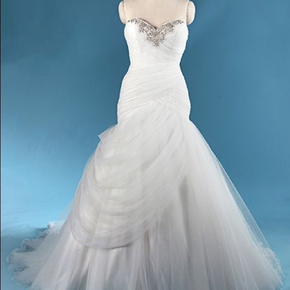 Alfred Angelo Dresses | Princess Jasmine Wedding Dress | Poshmark